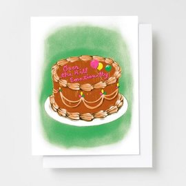Yellow Owl Workshop Birthday Card - Over the Hill Emotionally