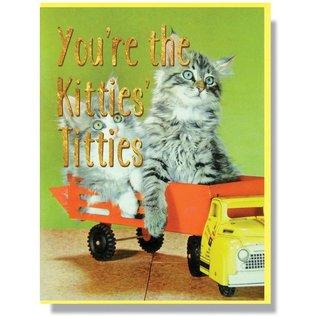 Smitten Kitten Greeting Card - Kittie's Titties