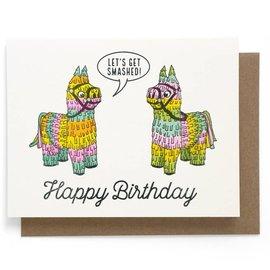 Smarty Pants Paper Birthday Card - Smashed Pinatas