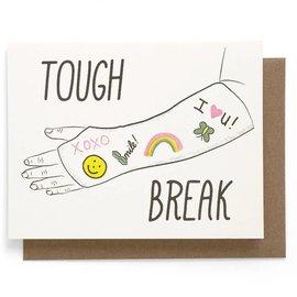Smarty Pants Paper Get Well Card - Tough Break