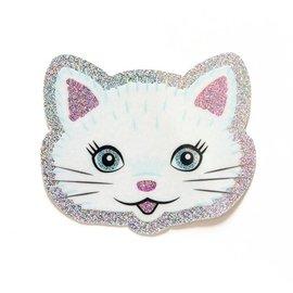 Smarty Pants Paper Glitter Cat Sticker