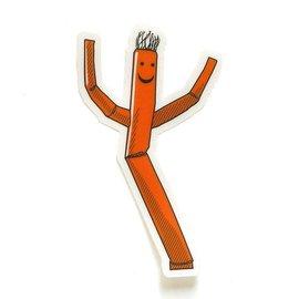 Smarty Pants Paper Wacky Waving Man Sticker