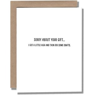 Power and Light Press Birthday Card - High Gift