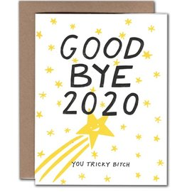 Power and Light Press Holiday Card - Goodbye 2020