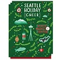 Paper Parasol Press Seattle Cheer Holiday Boxed Notes