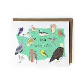 Yuko Miki Greeting Card - Birds of WA