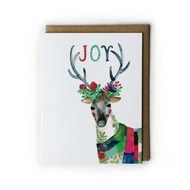 Yuko Miki Holiday Card - Joy Reindeer