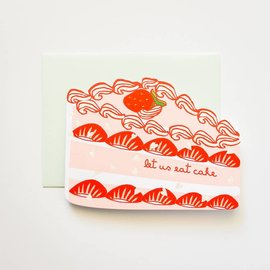 ilootpaperie Birthday Card - Let Us Eat Cake