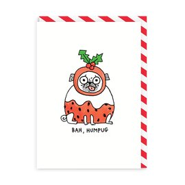 Ohh Deer Holiday Card - Bah Humpug