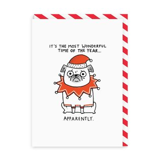 Ohh Deer Holiday Card - Most Wonderful Time Apparently