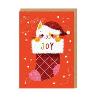 Ohh Deer Holiday Card - X-Mas Kitten