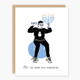Party of One Holiday Card - RBG Hanukkah