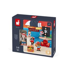 Janod Toys Pirates Story Set
