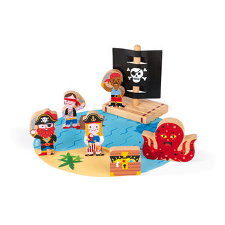 Janod Toys Pirates Story Set