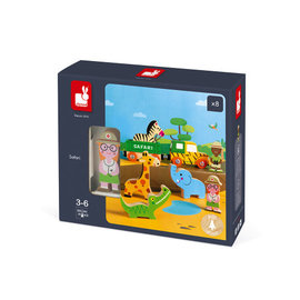Janod Toys Safari Story Set