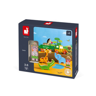 Janod Toys Safari Story Set
