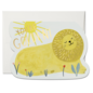 Red Cap Cards Birthday Card - Golden Lion