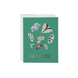 Red Cap Cards Encouragement Card - Moth Magic