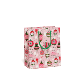 Red Cap Cards Retro Ornaments Gift Bag