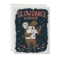Red Cap Cards Love Card - Sloth Slow Dance