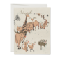 Red Cap Cards Holiday Card - Rudolph Auditions