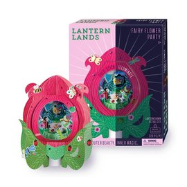 Bright Stripes Lantern Lands Fairy Flower Party