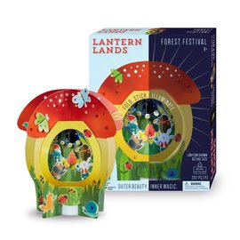 Bright Stripes Lantern Lands Fairy Forest Festival