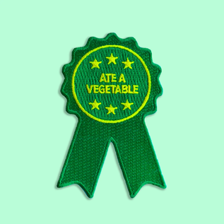 Boldfaced Goods Ate a Vegetable Ribbon Patch