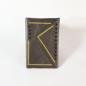Jasmine Gil Black Dots Flap Pocket Journal