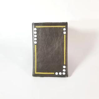 Jasmine Gil White Dots Pocket Journal