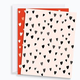 Waste Not Paper Valentine's Day Micro Hearts Boxed Notes