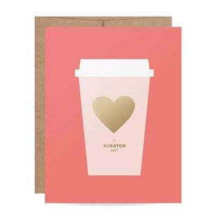 Inklings Paperie Valentine's Day - Coffee Scratch Off