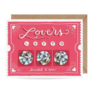 Inklings Paperie Valentine's Day - Lover's Lotto Scratch Off