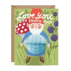 Inklings Paperie Valentine's Day Card - Like Gnome Other Pop-Up