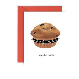 Waste Not Paper Valentine's Day Card - Stud Muffin