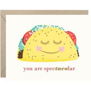 Waste Not Paper Valentine's Day Card - Spec'taco'lar