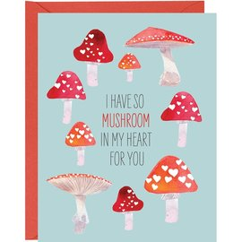 Waste Not Paper Valentine's Day Card - So Mushroom
