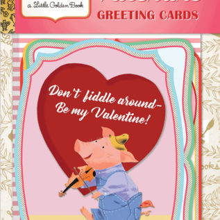 Laughing Elephant Storybook Valentine's Day Card Pack