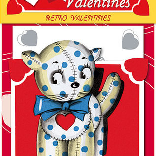 Laughing Elephant Retro Valentine's Day Card Pack