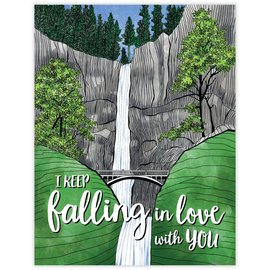 Waterknot Love Card - Falling in Love