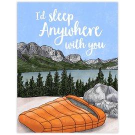 Waterknot Love Card - Sleep Anywhere