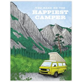 Waterknot Love Card - Happiest Camper