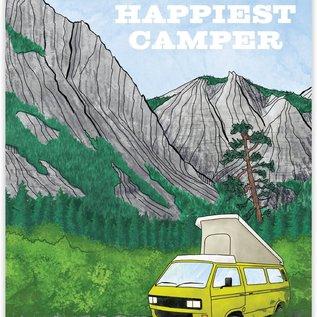 Waterknot Love Card - Happiest Camper