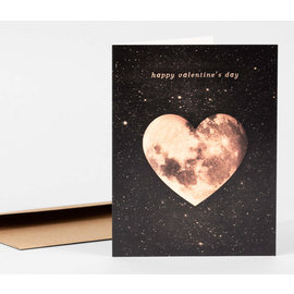 Buy Olympia Valentine's Day Card - Heart Moon