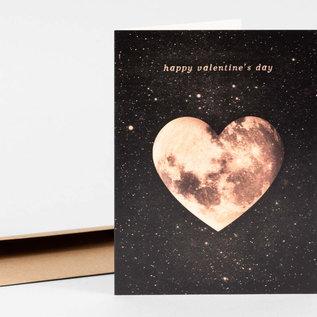 Buy Olympia Valentine's Day Card - Heart Moon