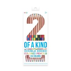 Ooly 2-of-a-Kind Double Ended Colored Pencils