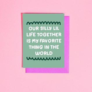 Craft Boner Love Card - Silly Lil Life