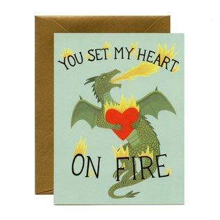 Yeppie Paper Valentine's Day Card - Dragon Heart