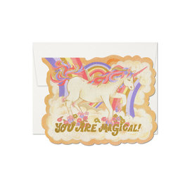 Red Cap Cards Love Card - Magical Unicorn
