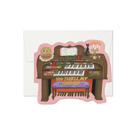 Red Cap Cards Valentine's Day Card - Tickle My Ivories